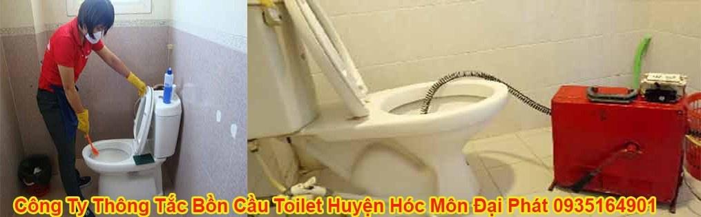 Công Ty Thông Tắc Bồn Cầu Toilet Huyện Hóc Môn Đại Phát 0935164901