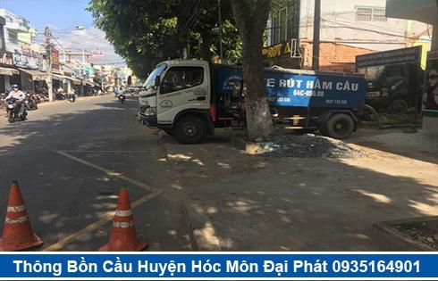 Cam kết hút hầm cầu không đục phá Huyện Hóc Môn không gây mùi hôi.