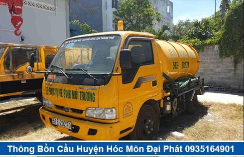 Cam kết nhận hút hầm cầu tại Huyện Hóc Môn nhanh sạch 99%