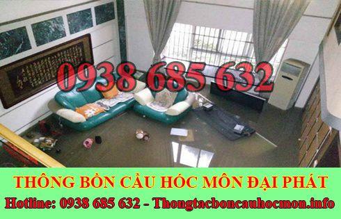 Thông cống bị trào ngược tại Huyện Hóc Môn giá rẻ 0938 685 632
