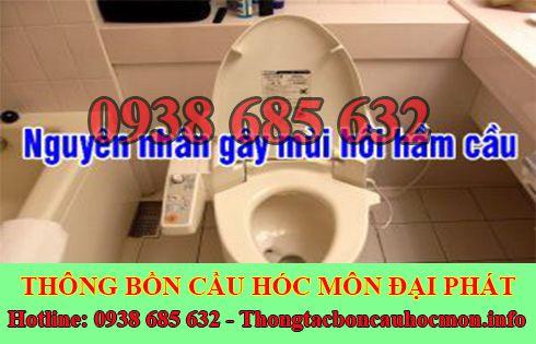 ông ty Đại Phát chuyên xử lý mùi hôi nhà vệ sinh.