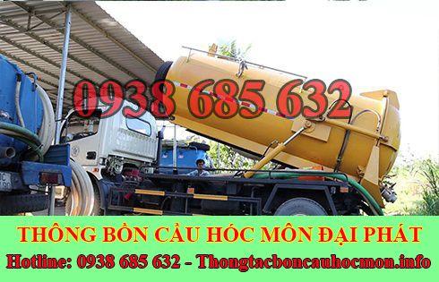 Số điện thoại hút hầm cầu Huyện Hóc Môn giá rẻ 0938 685 632