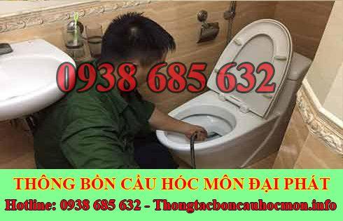 Số điện thoại thông bồn cầu Huyện Hóc Môn giá rẻ 0938 685 632