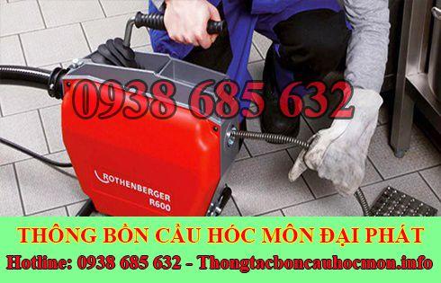 Số điện thoại thông cống nghẹt Huyện Hóc Môn giá rẻ 0938 685 632