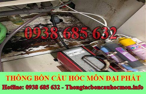 Sửa cống nghẹt Huyện Hóc Môn giá rẻ 0938 685 632 BH 5năm
