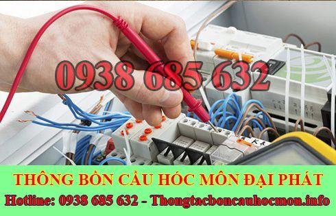 Thợ sửa chữa điện nước Huyện Hóc Môn tại nhà 0938 685 632