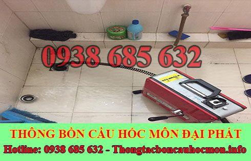 Thông đường ống nước bị tắc nghẹt Huyện Hóc Môn 0938 685 632