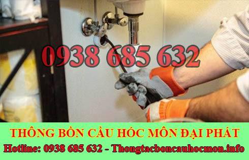 Thợ thông tắc bồn rửa mặt lavabo Huyện Hóc Môn 0938 685 632