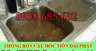 Thông bồn rửa chén Huyện Hóc Môn Đại Phát 0938685632
