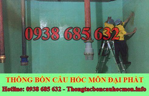 Bảng giá vệ sinh bể chứa nước ngầm Huyện Hóc Môn 0938 685 632