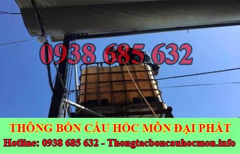 Bảng giá vệ sinh bồn nước Huyện Hóc Môn giá rẻ 0938 685 632