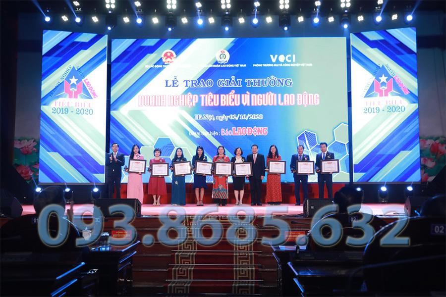 Lễ Trao Giải Doanh Nghiệp Tiêu Biểu Công ty Thông Tắc Bồn Cầu Huyện Hóc Môn Đại Phát