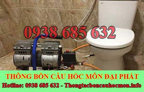 Thông bồn cầu huyện Hóc Môn và 8 cách xử lý tại nhà